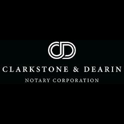 Clarkstone & Dearin Notaries Public logo