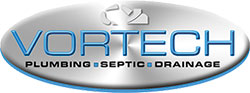 Vortech Plumbing Septic Drainage logo