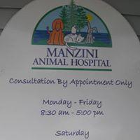 Manzini Animal Hospital logo