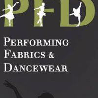 Performing Fabrics & Dancewear logo