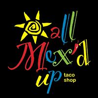 All Mex'd Up Taco Shop logo