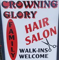 Crowning Glory Coiffures logo