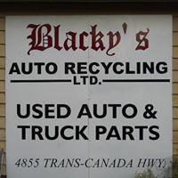 Blacky's Auto Recycling Ltd logo