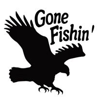Gone Fishin' logo