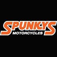 Spunky's Motorcycle Shop logo
