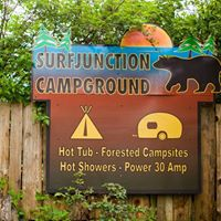 Surf Junction Campground logo