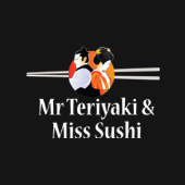 Mr Teriyaki & Miss Sushi logo