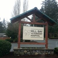 Mill Bay Veterinary Hospital logo
