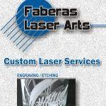 Fabera's Laser Arts logo