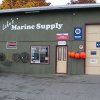 Lake's Marine Supply logo