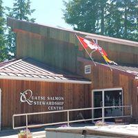 Quatse Salmon Stewardship Centre logo