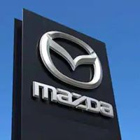 Courtenay Mazda logo