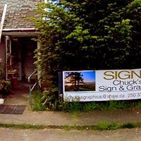 Chuck's Sign & Graphic logo