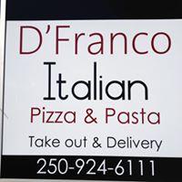 D'Franco Italian Pizza & Pasta logo
