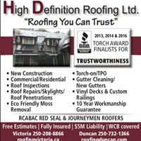 High Definition Roofing logo