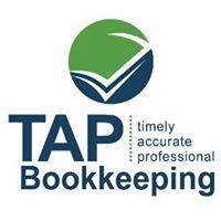 TAP Bookkeeping logo