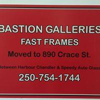 Bastion Galleries Fast Frames logo
