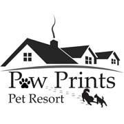 Paw Prints Pet Resort logo