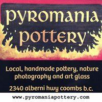 Pyromania Pottery logo