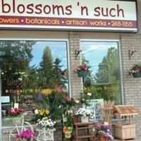 Blossoms 'N Such logo
