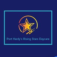 Port Hardy's Rising Stars Daycare logo