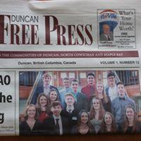 Duncan Free Press logo