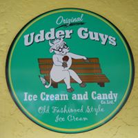 Original Udder Guy's Ice Cream & Candy logo