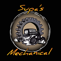 Supa's Mechanical logo