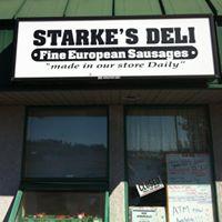 Starke's Deli & Sausage Factory logo