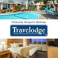 Victoria Airport Travelodge logo