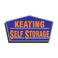 Keating Self Storage logo