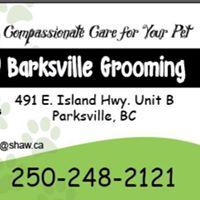 Barksville Grooming Salon logo