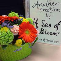 A Sea Of Bloom Floral Designs logo