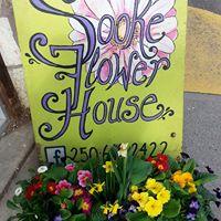 Sooke Flower House logo