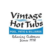 Vintage Hot Tubs Pool Patio & Billiards logo
