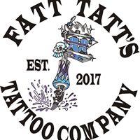 Fatt Tatt's Tattoo Company logo