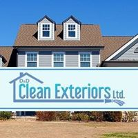 D & D Clean Exteriors Ltd logo