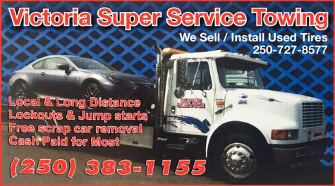 Victoria Super Service Towing logo