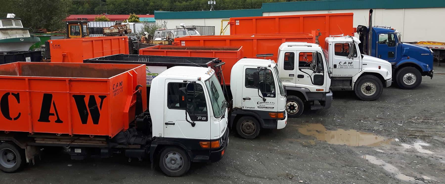Contain-A-Way Disposal Services logo