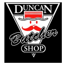 Duncan Butcher Shop The logo