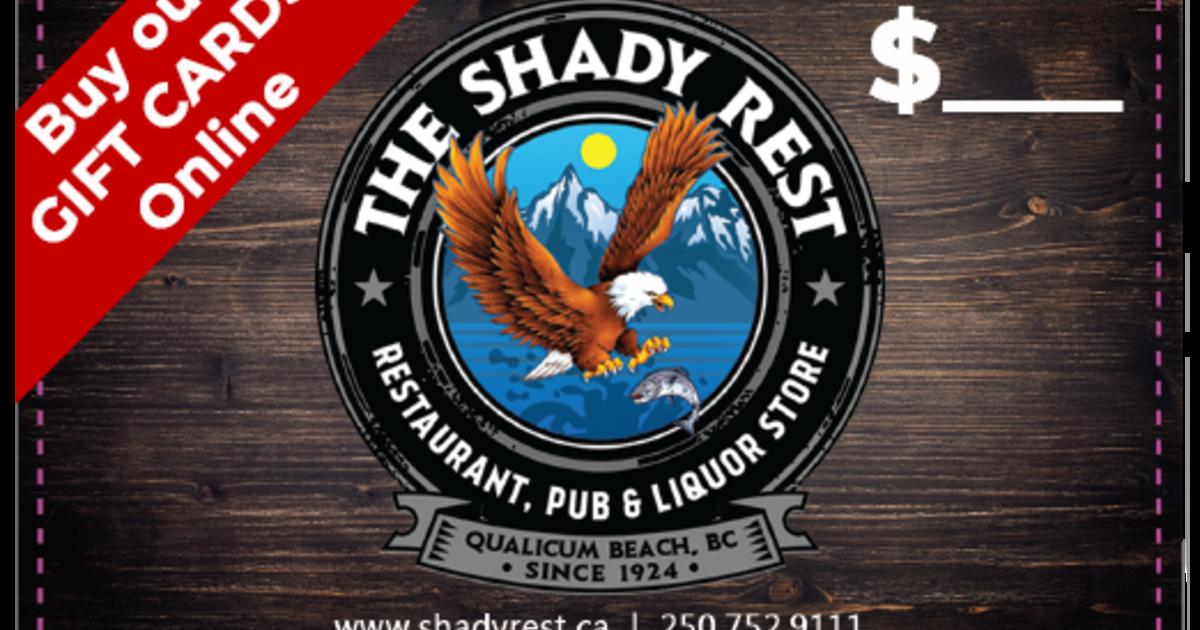 Shady Rest The - Waterfront Restaurant & Pub logo