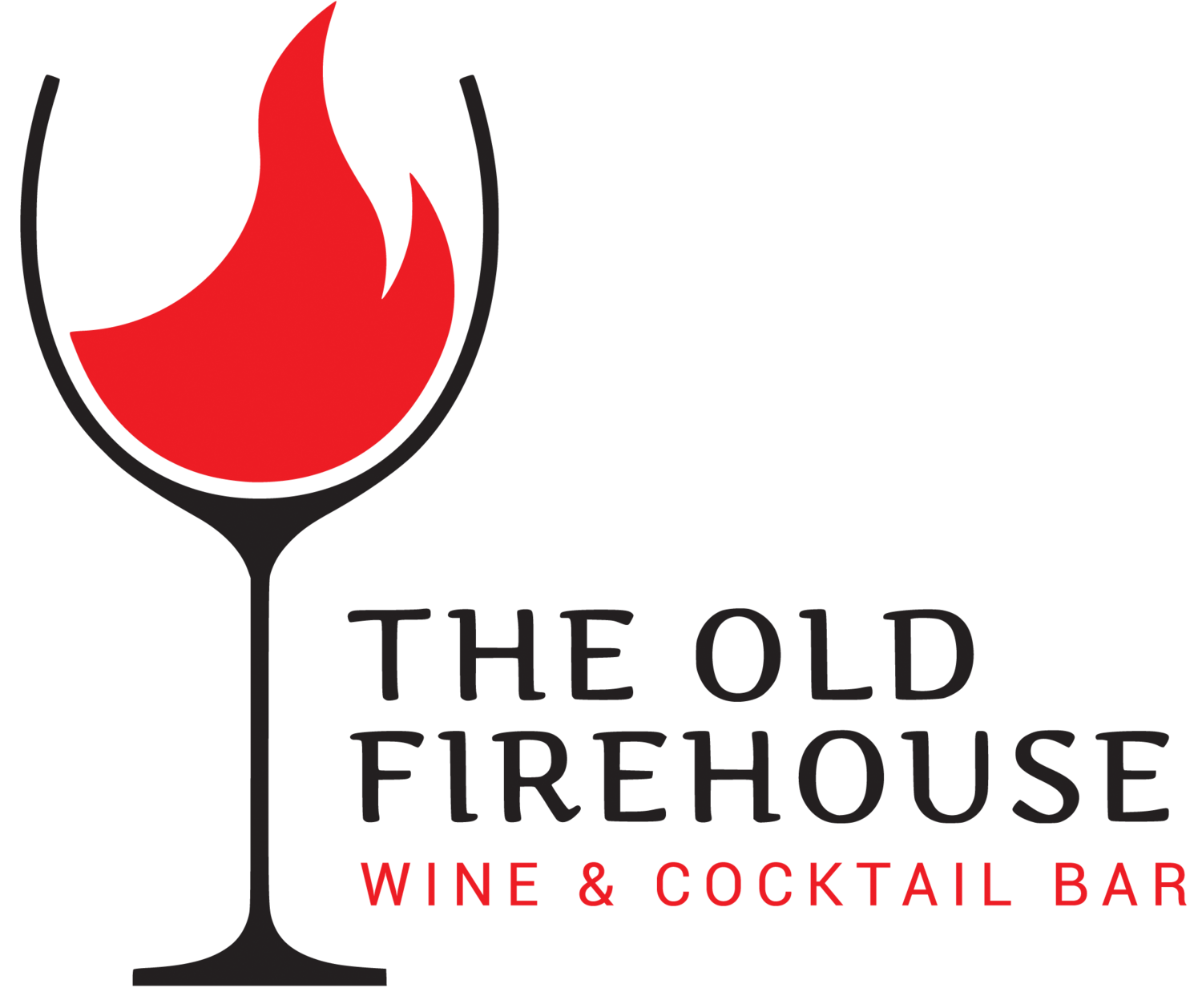 Old Firehouse Wine & Cocktail Bar The logo