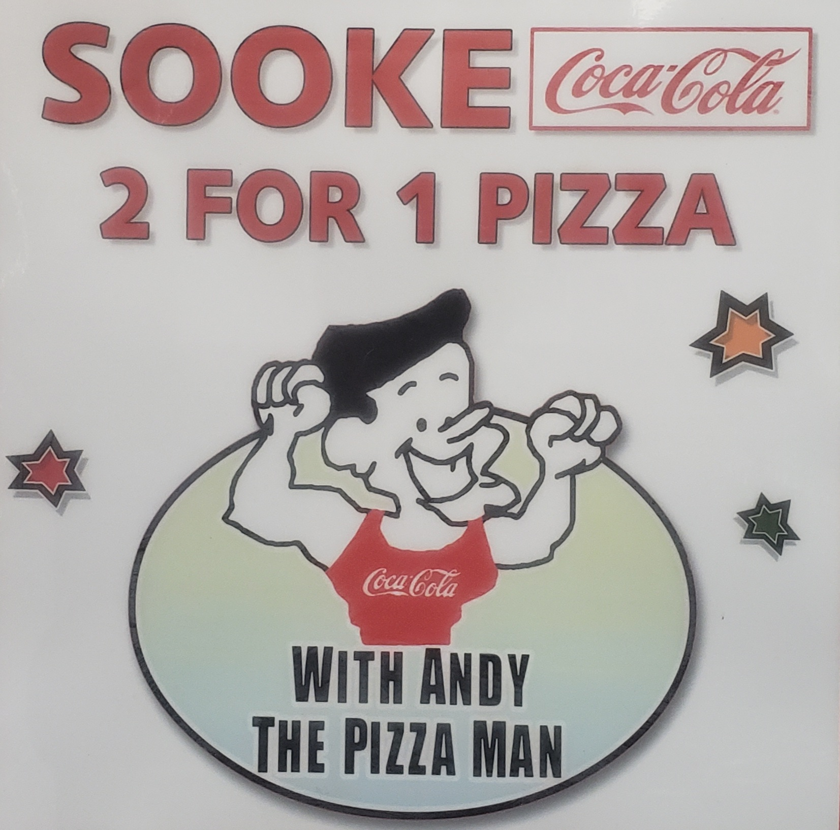 Sooke 2 For 1 Pizza logo