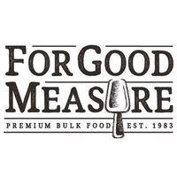 For Good Measure logo