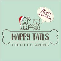 Happy Tails Teeth Cleaning logo
