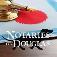 Notaries On Douglas logo
