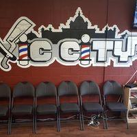 Vic City Barbers logo