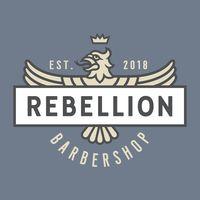 Rebellion Barbershop logo