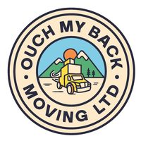 Ouch My Back Moving logo