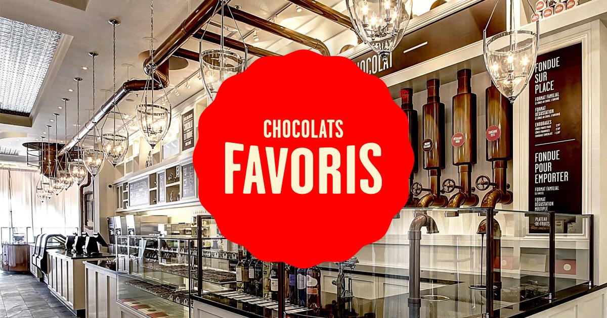 Chocolats Favoris logo